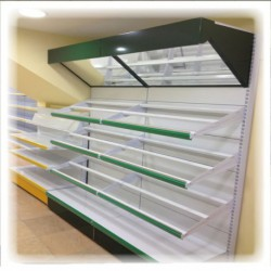Estanteria comercial CM-IWE (precio y medidas a consultar)