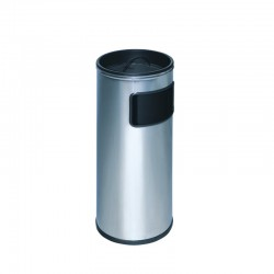 Cenicero-papelera de acero inoxidable - 400-I