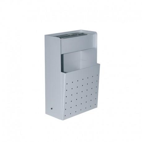 Cenicero-papelera metálico de pared - 420
