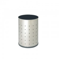 Papelera metálica de acero inoxidable - 101-R-I