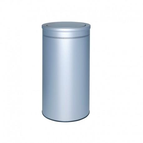 Papelera metálica perforada - 108