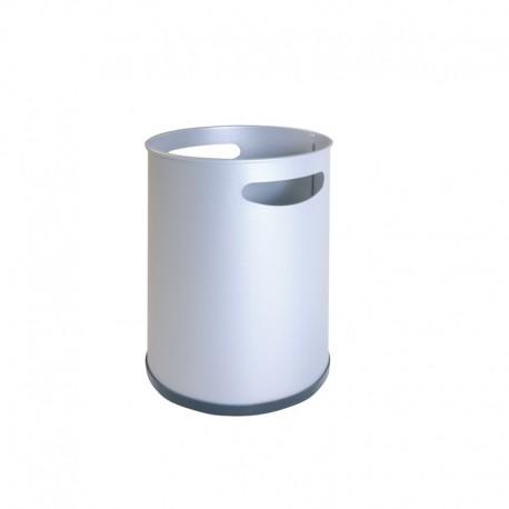 Papelera metálica con asas - 111