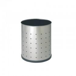 Papelera de acero inoxidable perforado - 111-R-I