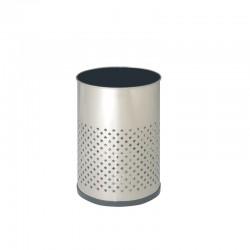 Papelera de acero inoxidable - 112-R-I
