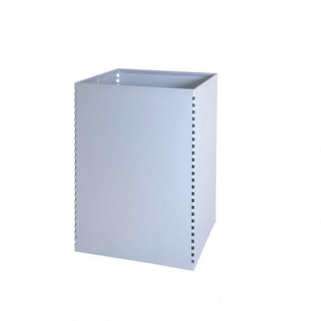 Papelera metálica con perforados laterales - 145