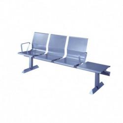 Bancada de 3 asientos + mesa FNT3-DL
