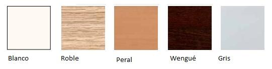 Diferentes acabados de madera
